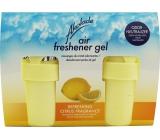 Akolade Air Freshener Citrus solid gél osviežovač vzduchu 2 x 150 g