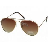 Nac New Age Slnečné okuliare zlaté AZ ICONS 1140C