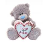Me to You Medvedík so srdcom Love You Loads 17 cm