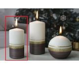 Lima Aróma línia sviečka karmínová valec 50 x 100 mm 1 kus