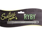 Nekupto Svietiace propiska s potlačou Ryby, ovládač dotykových nástrojov 15 cm