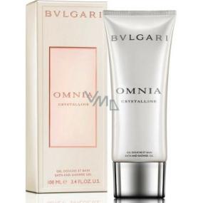 Bvlgari Omnia Crystalline sprchový gél pre ženy 200 ml
