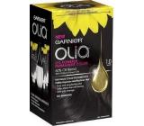 Garnier Olia barva na vlasy bez amoniaku 1.0 Ultra černá