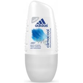 Adidas Climacool 48h guličkový antiperspirant dezodorant roll-on pre ženy 50 ml