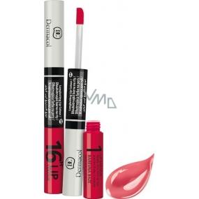 Dermacol 16H Lip Colour dlouhotrvající barva na rty 02 3 ml a 4,1 ml