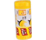 Fino Color Sáčky do odpadkového koša s ušami žltej 20 litrov, 44 x 50 cm, 15 mikrometrov, 30 kusov