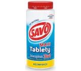 Savo 3v1 Maxi komplex Chlorové tablety do bazénu dezinfekce 1,4 kg