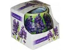 Admit Lavender dekorativní aromatická svíčka ve skle 80 g