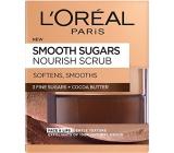 Loreal Paris Smooth Sugars Nourish Scrub jemný vyživující cukrový peeling 50 ml