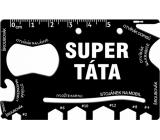 Albi Multinářadí do peněženky Super táta 8,5 cm x 5,3 cm x 0,2 cm