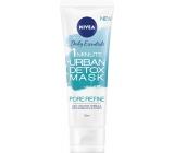 Nivea Urban Skin Detox 1minutová hloubkově čisticí maska 75 ml