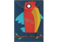 Puzdro na dokumetu A6 - Papagáj