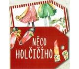 Nekupto Vianočné kartičky na darčeky niečo diečenského 5,5 x 7,5 cm 6 kusov
