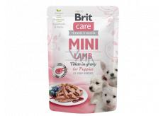 Brit Care Mini Puppy Lamb Fillets In Gravy kompletné superprémiové krmivo pre šteňatá mini plemien kapsička 85 g