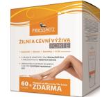 Priessnitz Forte Žilná a cievna výživa doplnok stravy 60 toboliek + De Luxe mazanie na žily a CEY 125 ml, sada