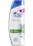 Head & Shoulders mentol osviežujúci šampón proti lupinám pre normálne a mastné vlasy 400 ml