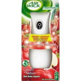 Air Wick Fresh Matic Max Rubínovo červené jablká automatický sprej 250 ml