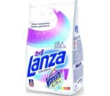 Lanza 2v1 Bílá prací prášek na bílé prádlo s Vanish Ultra 15 dávek 1,125 g