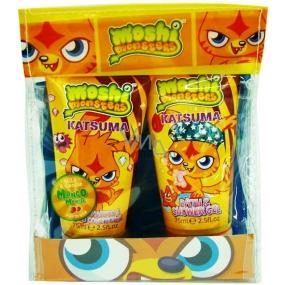 Moshi Monsters Mini Travel Set sprchový gel 75 ml + 2v1 šampon a kondicioner 75 ml kosmetická sada