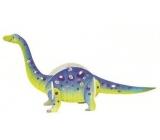Dřevěné puzzle dinosauři 5 Brontosaurus 20 x 15 cm