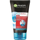 Garnier Skin Naturals Pure Active 3v1 aktívne uhlie proti čiernym bodkám 150 ml