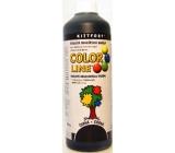 Kittfort Color Line tekutá malířská barva Černá 500 g