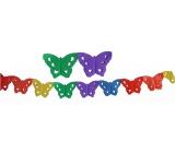 Girlanda Motýliky 400 x 16 cm