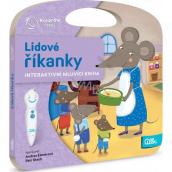 Albi Kúzelné čítanie interaktívne hovoriace kniha Ľudové riekanky 1 pre deti od 2 rokov