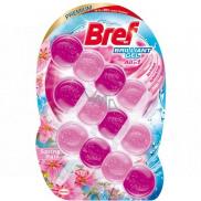 Bref Brilliant Gel All in 1 Spring Rain WC blok s vôňou jarného dažďa 3 x 42 g