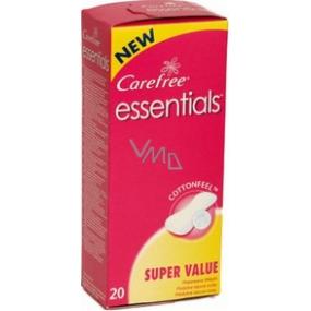 Carefree Essentials slipové intímne vložky 20 kusov