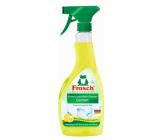 Frosch Eko Citrón kúpeľne a sprchy čistiaci prostriedok s kyselinami z citrónov 500 ml rozprašovač