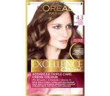 Loreal Paris Excellence Creme farba na vlasy 4.3 Hnedá zlatá