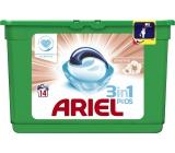 Ariel Sensitive 3v1 gelové kapsle na praní prádla 14 kusů 418,6 g