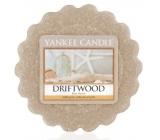 Yankee Candle Driftwood - Naplavené dřevo vonný vosk do aromalampy 22 g