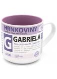 Nekupto Hrnkoviny Hrnček s menom Gabriela 0,4 litra