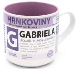Nekupto Hrnkoviny Hrnek se jménem Gabriela 0,4 litru