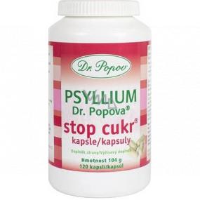 Dr. Popov Psyllium Stop Cukor kapsule 120 kusov 104 g