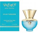 Versace Dylan Turquoise Hair Mist vlasová hmla s rozprašovačom pre ženy 30 ml
