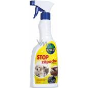 Bio-Enzym Neutralizer Stop zápachu s vůní ovovce likvidátor zápachu 500 ml rozprašovač