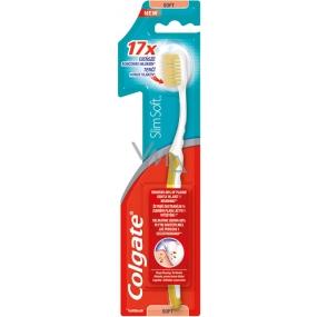 Colgate Slim Soft měkký zubní kartáček 1 kus