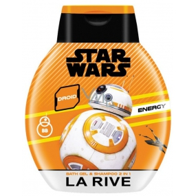 La Rive Star Wars Droid Energy 2v1 sprchový gél a šampón pre mužov 250 ml