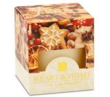Heart & Home Vianočné korenia Sójová vonná sviečka bez obalu horí až 15 hodín 53 g