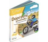 Albi Kúzelné čítanie interaktívne minikniha Dopravné prostriedky