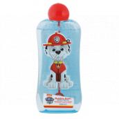Paw Patrol Tlapková patrola kúpeľový a sprchový gél bublinkový s bublifukom pre deti 200 ml