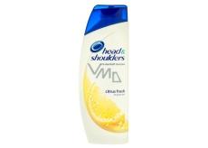 Head&Shoulders Citrus Fresh proti lupům šampon pro mastné vlasy 400 ml