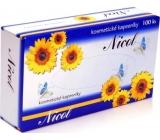 Nicol kozmetické vreckovky 2 vrstvové v krabičke 100 kusov