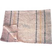 Clanax Hadr tkaný bílý na podlahu 80 x 50 cm 1 kus