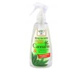 Bion Cosmetics Cannabis sprej na nohy s dezinfekčné a zmäkčujúce prísadou 260 ml