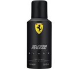 Ferrari Scuderia Black deodorant sprej pro muže 150 ml