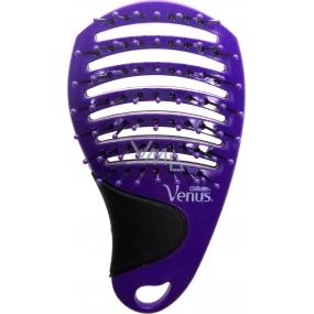 DÁREK Gillette Venus kartáč na vlasy fialový 12,5 cm